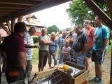 Třetí včelařské posezení na Suché