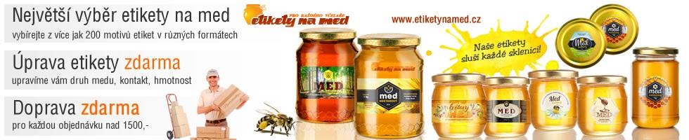 Nabídka etiket na med