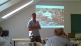 Přednáška ve Výzkumném ústavu včelařském v Dole